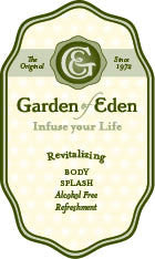 Garden of Eden Revitalizing Body Splash