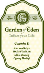 Garden of Eden Aftershave Lotion with Vitamin E