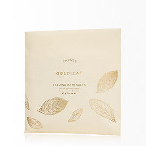 Thymes Goldleaf Foaming Bath Envelope