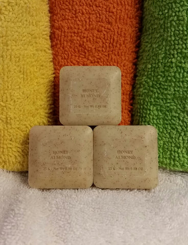 Provence 25 gm Quad-Milled Soap, Honey Almond (3-pack)
