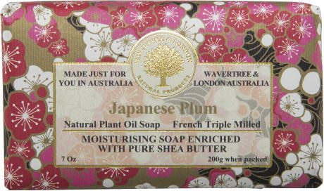 Wavertree & London Japanese Plum Bar Soap, 200 gm