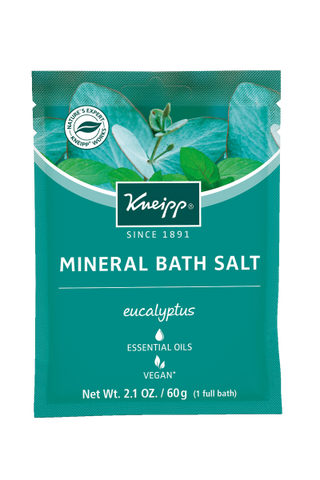 Kneipp Eucalyptus Mineral Bath Salt Packet, 2.1oz