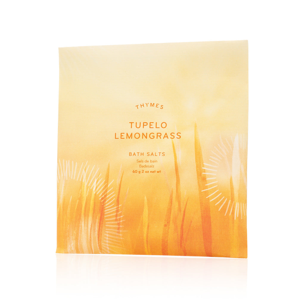 Thymes Tupelo Lemongrass Bath Salt Envelope