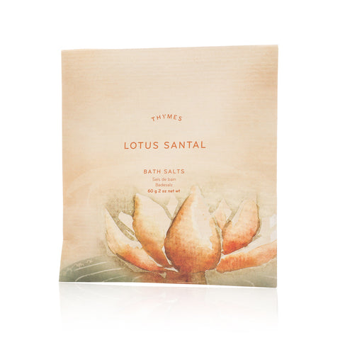Thymes Lotus Santal Bath Salt Envelope