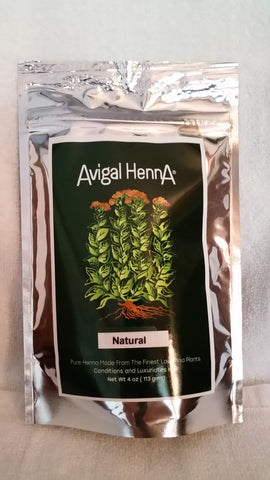 Avigal Henna Natural, 4 oz