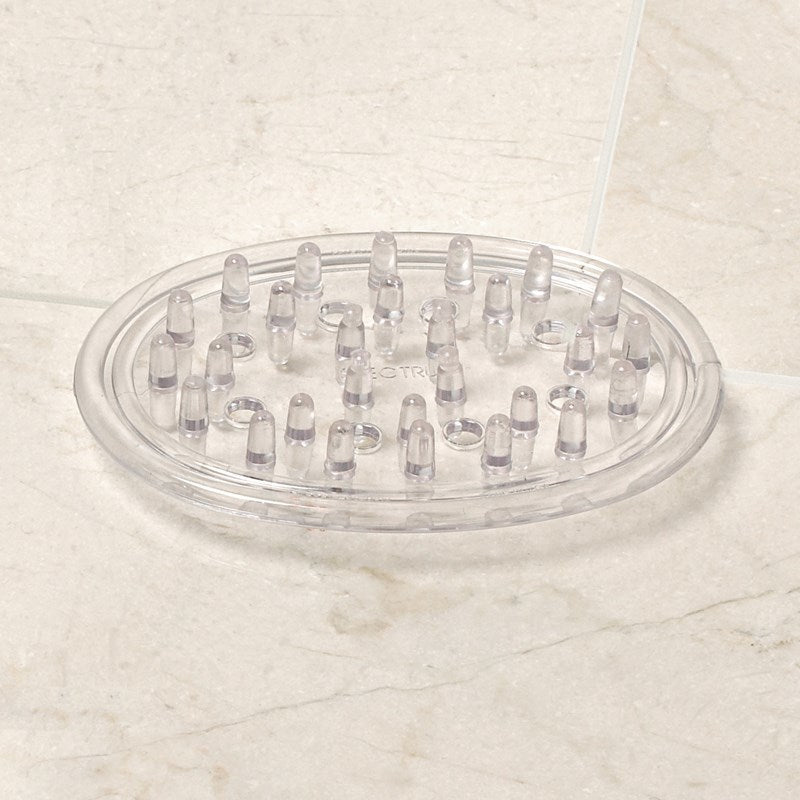 Soap Saver, Clear Plastic Oval