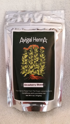 Avigal Henna Strawberry Blonde, 4oz