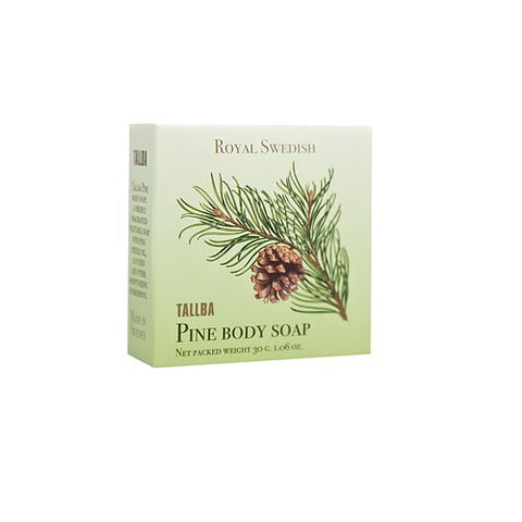 Royal Swedish Tallba Pine Body Soap, 30 grams