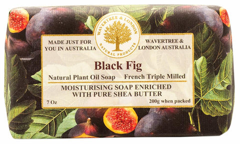 Wavertree & London Black Fig Bar Soap, 200gm