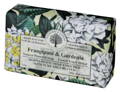 Wavertree & London Frangipani & Gardenia Bar Soap, 200 gm