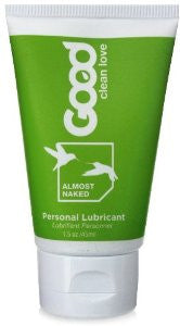 Good Clean Love Almost Naked Organic Personal Lubricant, 1.5 oz.