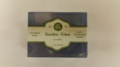 Garden of Eden Glycerin Soap - Lavender Bar