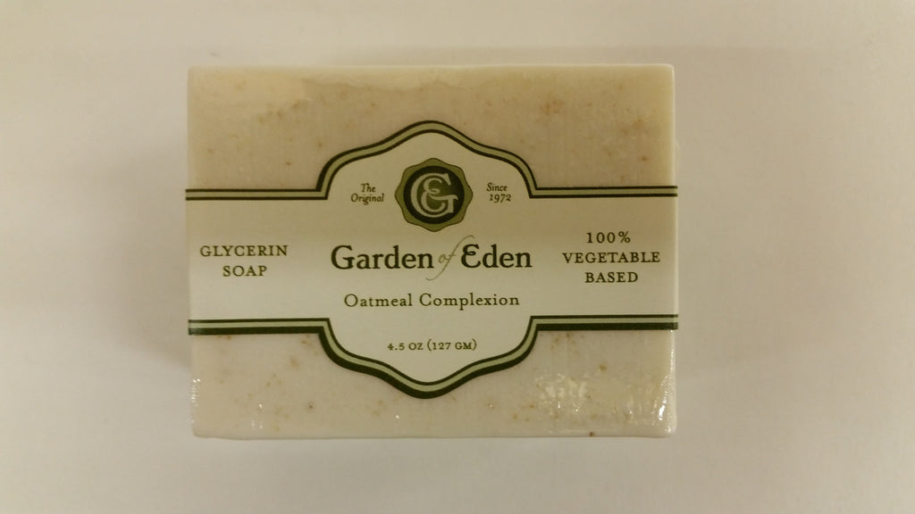 Garden of Eden Glycerin Soap - Oatmeal Complexion Bar
