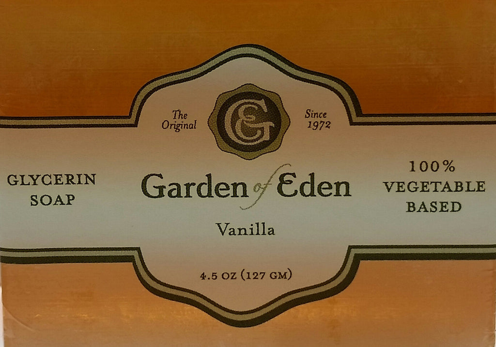 Garden of Eden Glycerin Soap - Vanilla Bar