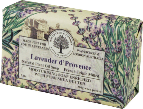 Wavertree & London Lavender d' Provence Bar Soap, 200 gm