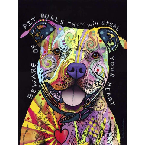 Beware of The Pit Bulls Dog Diamond Painting Kits