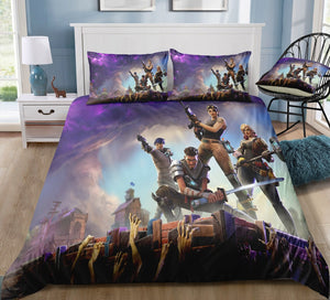 Cool Video Game Fortnite Duvet Covers Bedding Sets