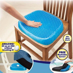 Egg Seat Cushions Breathable Absorbs Pressure Points Duck egg Blue Cushions