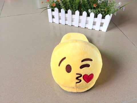 Emoji Love Party Favors Kids Slippers