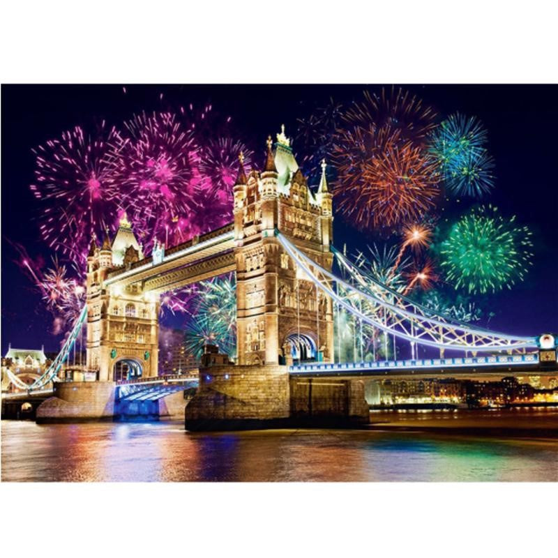 London White Tower Celebrate Night View Diamond Painting Art Kits