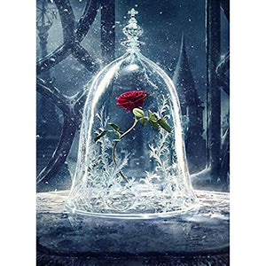 The Enchanted Rose Beauty and Beast Diamond Painting Kits