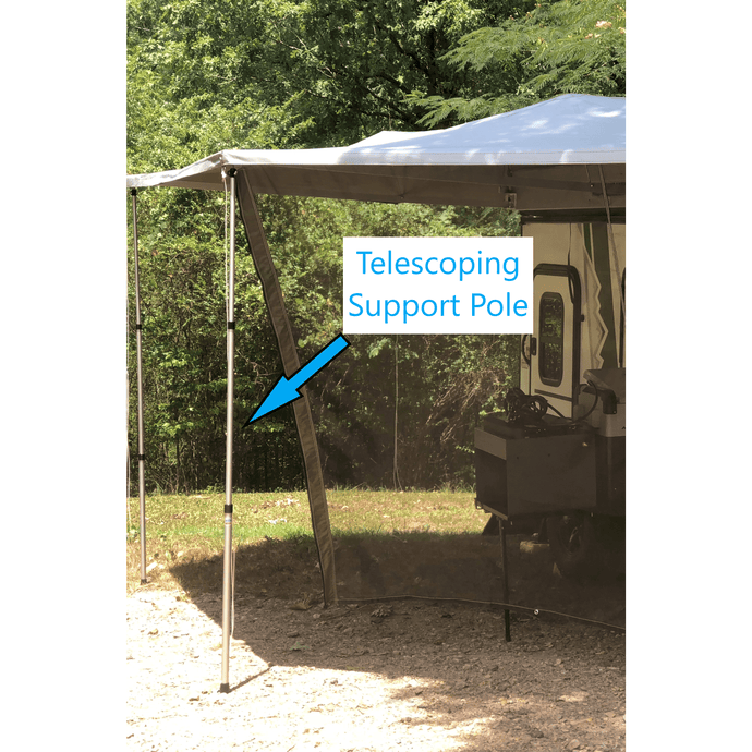 BunduTec Telescoping Support Pole (CP718) - Outback Tents