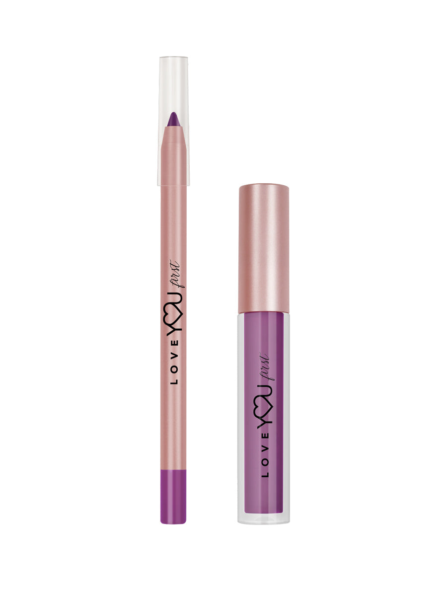 """Legendary"" Liquid Matte Lip Kit (Purple)"