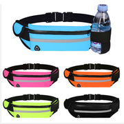 XERCIVE™ Upgraded Running Belt with Water Bottle Holder, Waist Bag with Adjustable Straps for Men and Women - xercive
