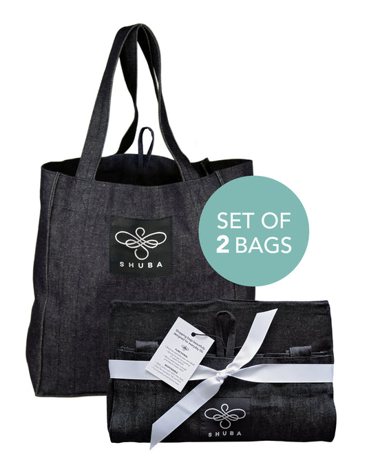 SHUBA SHOPPER • SET OF TWO