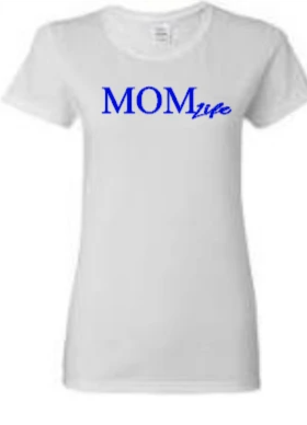 Mom Life Royal Blue