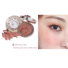 Load image into Gallery viewer, New Arrival Women Blush Palette Face Makeup Shimmer Matte Pigment Long-lasting Waterproof Natural Nude Makeup Brightening