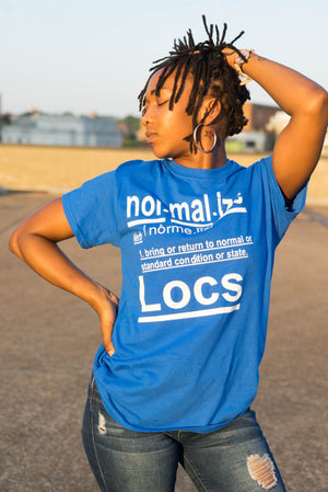 Normalize Locs Tee