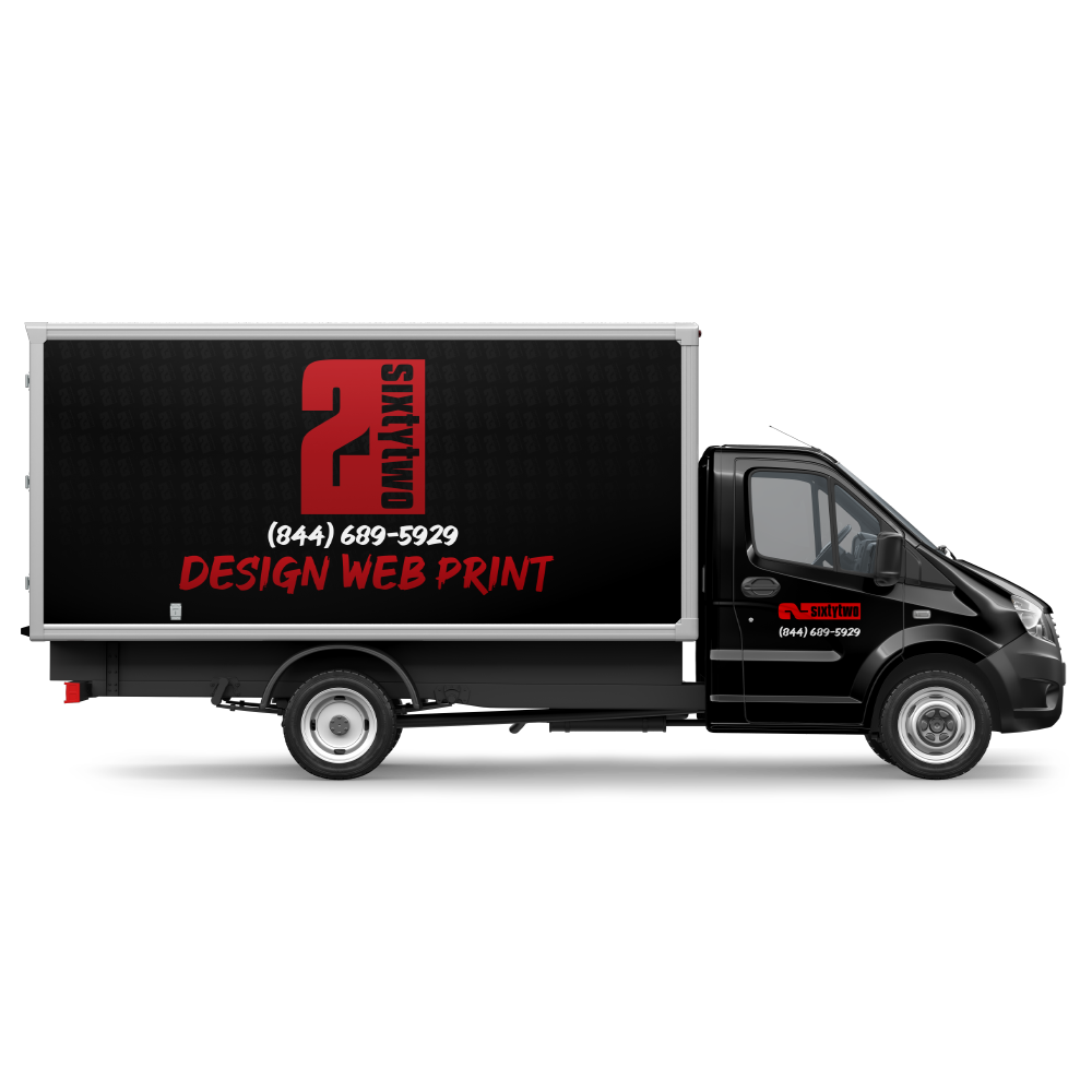 Vehicle Wrap Box Truck