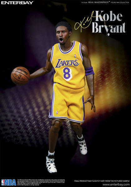 "(RM-1065) Real Masterpiece: NBA Collection – Kobe Bryant 1/6 scale figurine ""Duo Pack"""