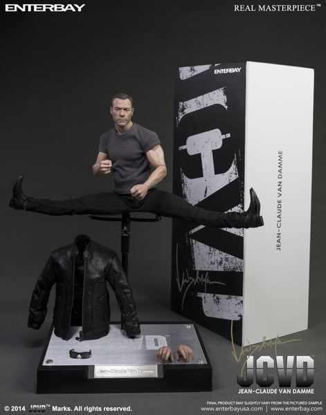 (RM-1043) Real Masterpiece: Jean-Claude Van Damme 1/6 scale collectible figurine