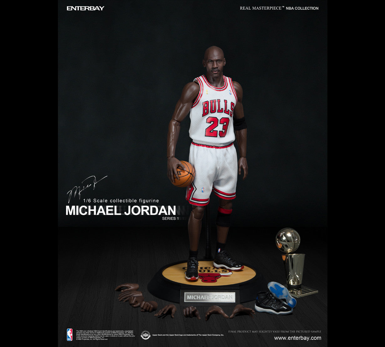on sale d5a50 0bcbb RM-1052)Real Masterpiece NBA Collection Michael Jordan ...
