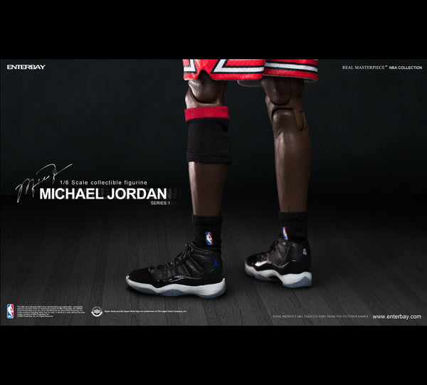 (RM-1052) Real Masterpiece: NBA Collection – Michael Jordan 1/6 figurine Home Jersey Edition