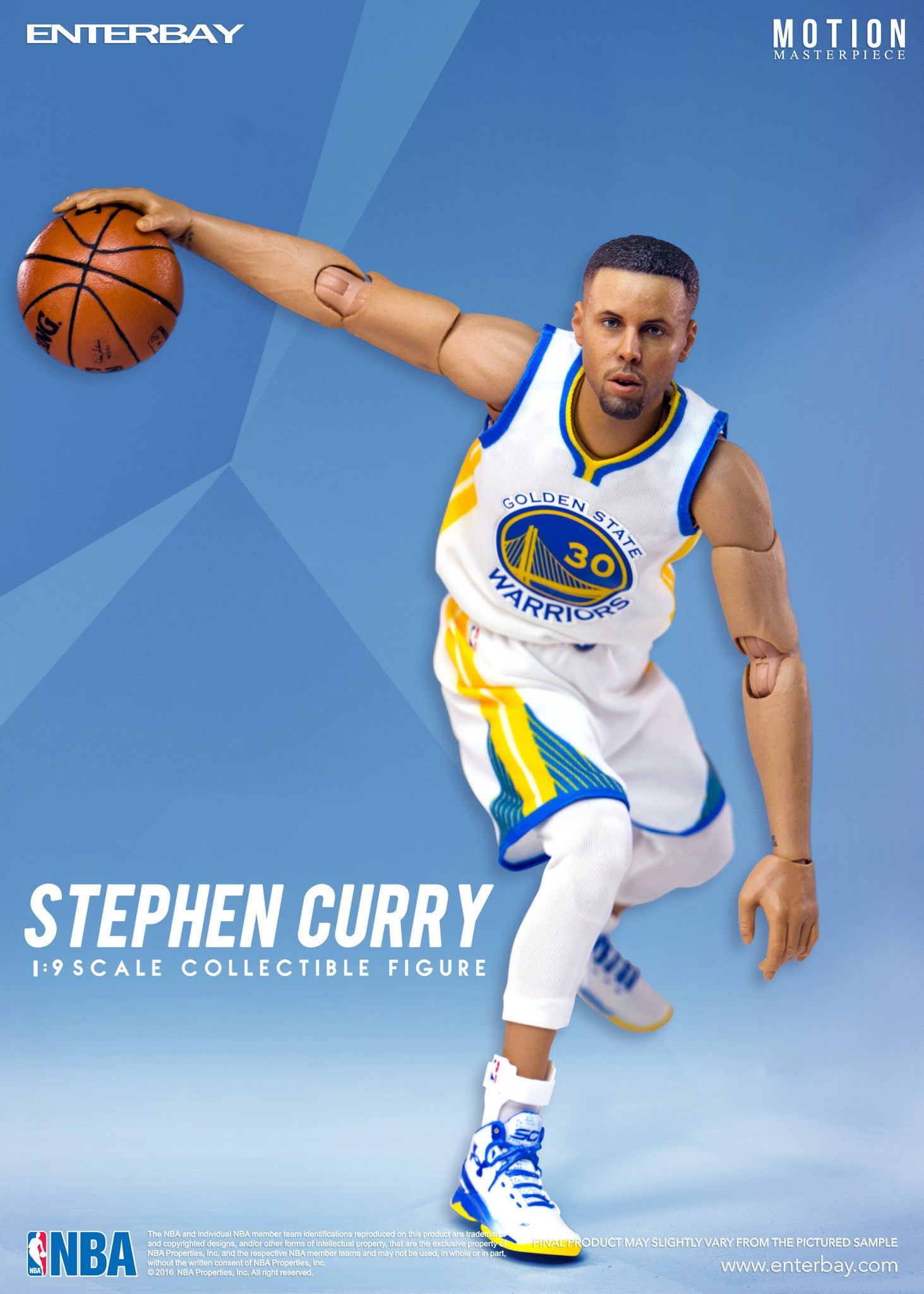 low priced 9c019 7a10c NBA Collection – Stephen Curry 1/9 scale figurine - ENTERBAY USA