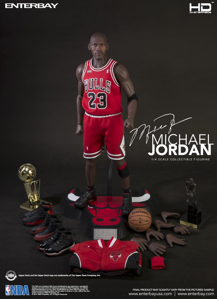 (HD-1015) 1:4 NBA EnterBay figurine Michael Jordan - ENTERBAY USA