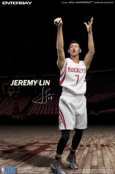 (RM-1047) Real Masterpiece: NBA Collection – Jeremy Lin (Rockets) 1/6 scale collectible figurine