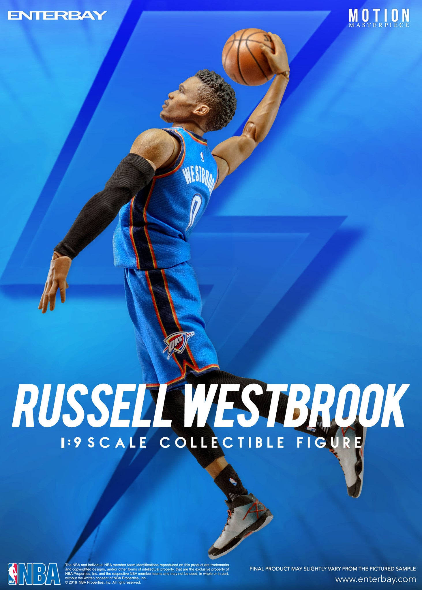 Nba Collection Russell Westbrook 1 9 Scale Figurine