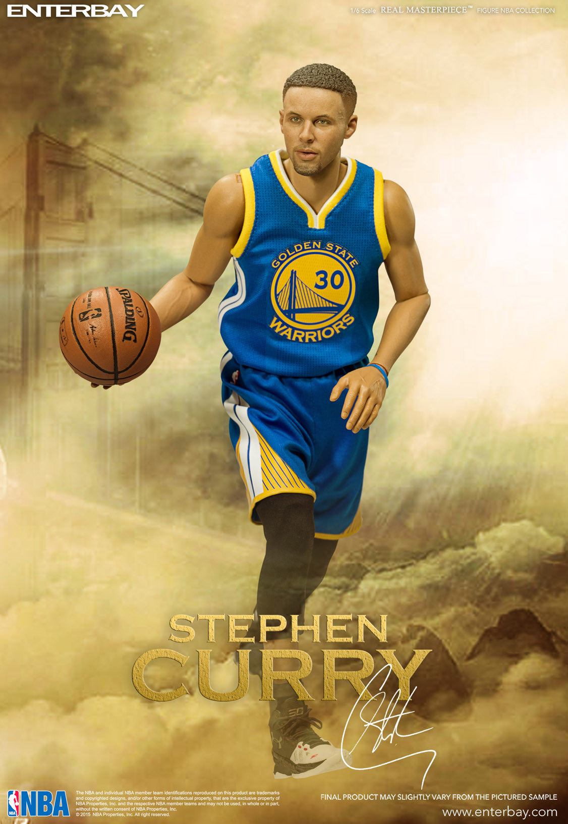 huge discount 44528 a517c RM-1066 Real Masterpiece: NBA Collection – Stephen Curry 1/6 ...