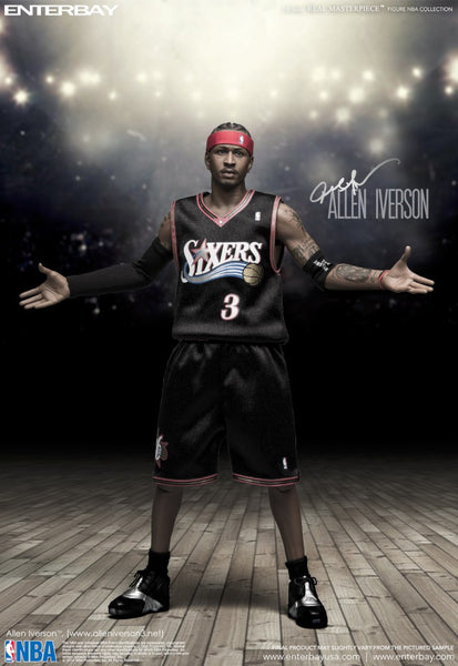 (RM-1060) Real Masterpiece: NBA Collection – NBA Allen Iverson 1/6 scale collectible figurine