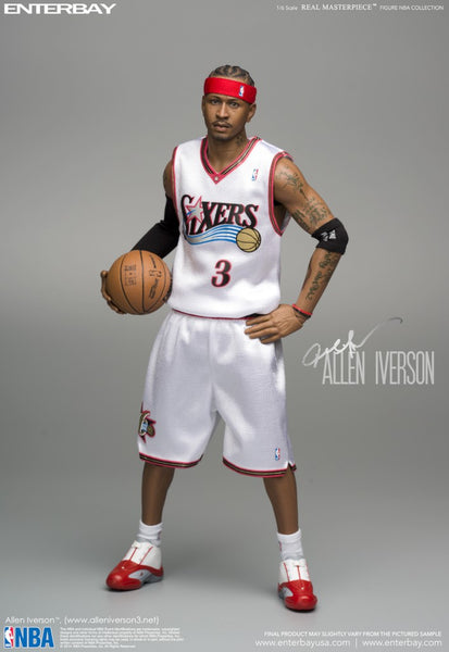 (RM-1060LE) Real Masterpiece: NBA Collection – Allen Iverson 1/6 scale figurine (Limited Edition)