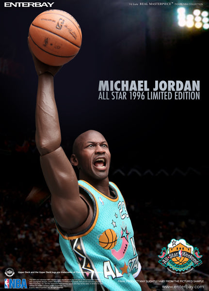 (RM-1061) Real Masterpiece -Michael Jordan 1996 All-Star Limited Edition