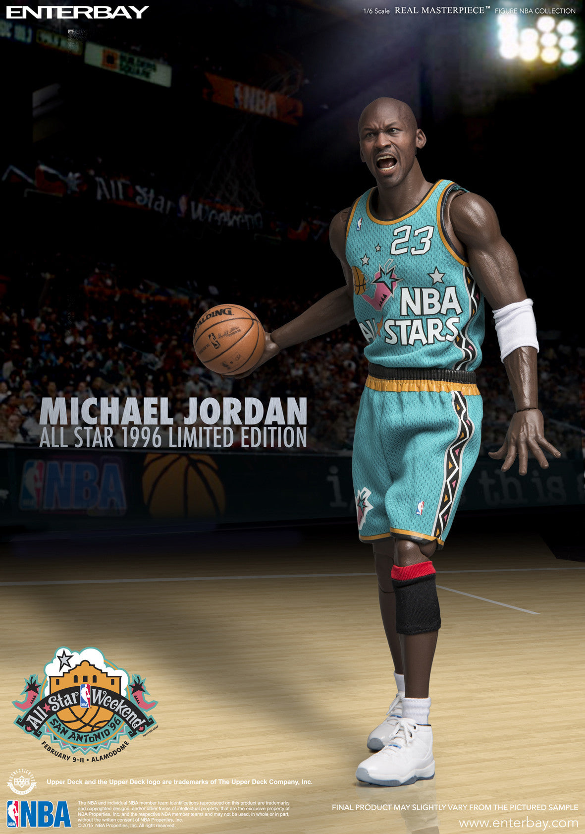 check out fe4a1 db78f (RM-1061) Real Masterpiece -Michael Jordan 1996 All-Star Limited Edition