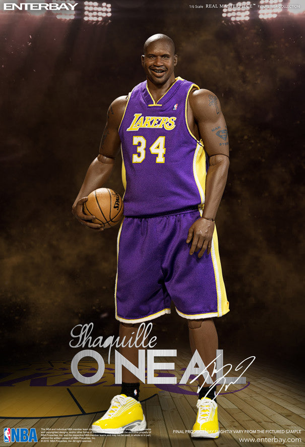 RM-1063 EnterBay NBA Shaquille O'Neal action figure ...
