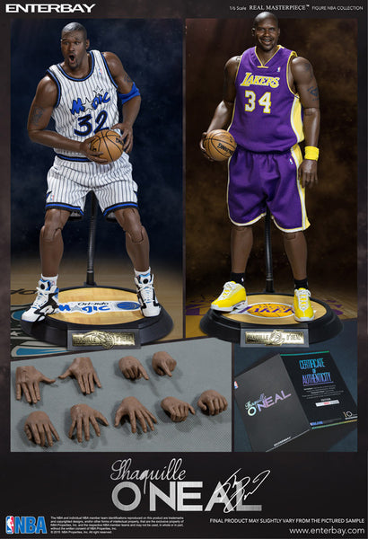 "(RM-1063) Real Masterpiece: NBA Collection – Shaquille O'Neal 1/6 scale figurine ""Duo Pack"""