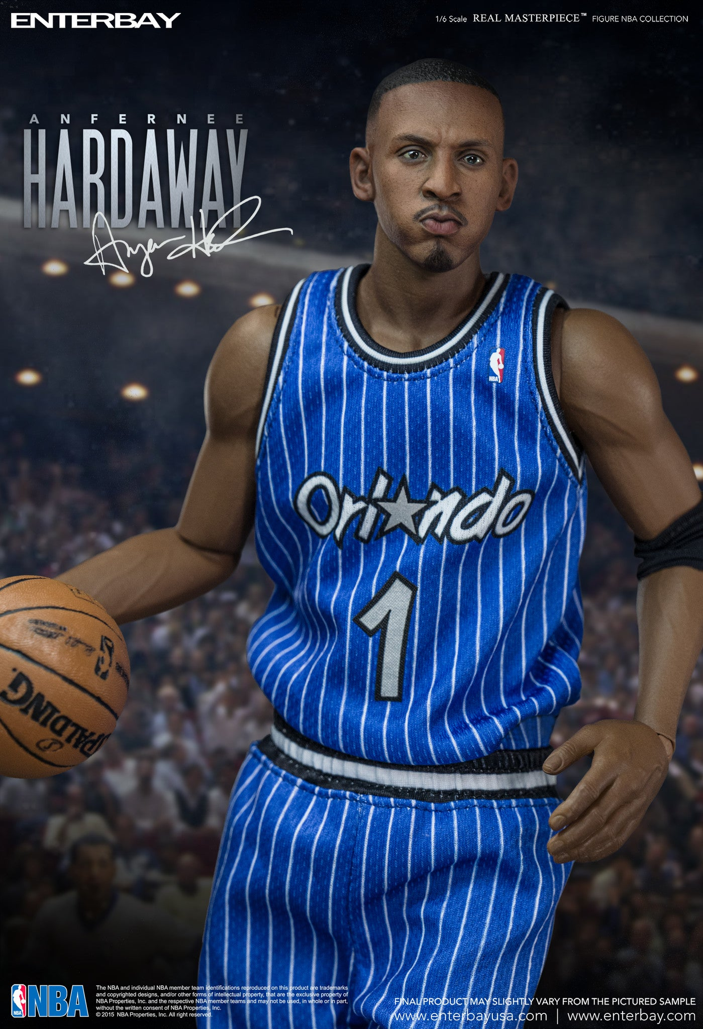 """RM 1068 Real Masterpiece NBA Collection – Anfernee """"Penny"""