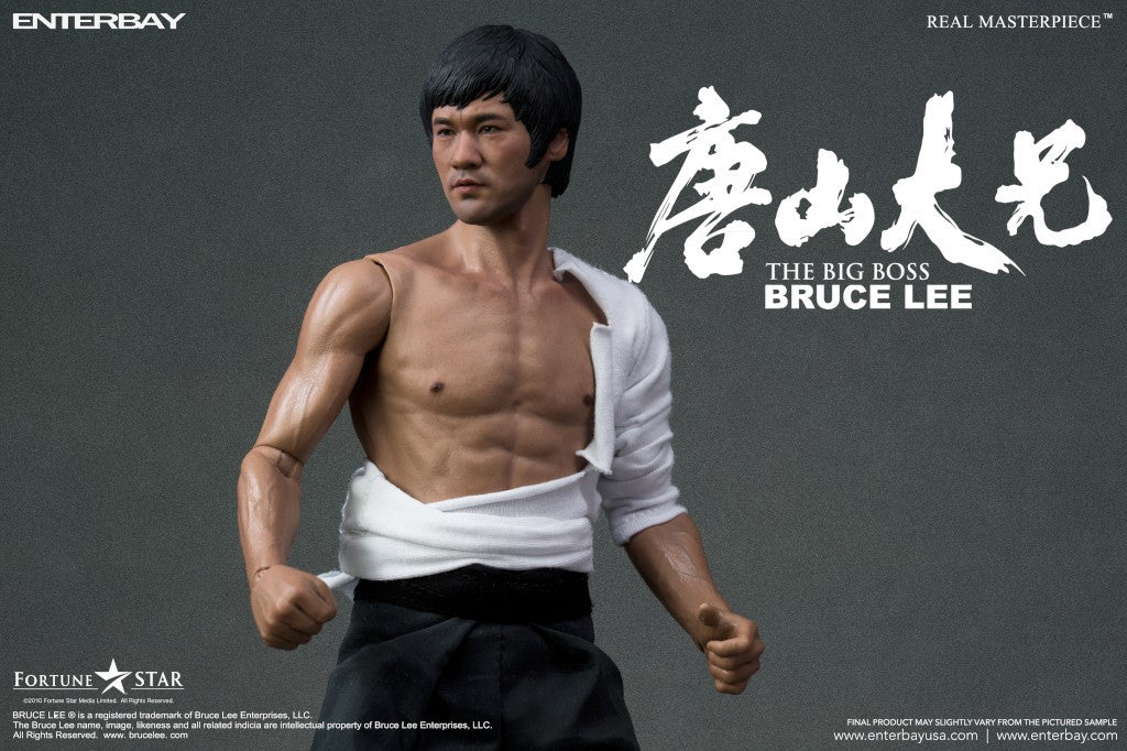 RM-1056) Real Masterpiece Bruce Lee - The Big Boss - ENTERBAY USA